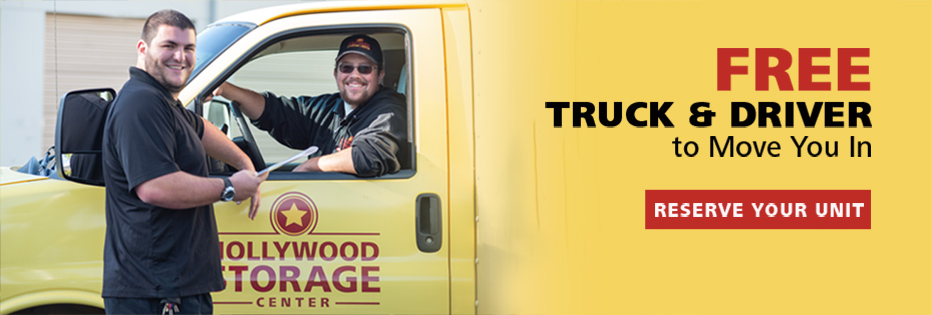 Free truck & driver to move you in.  Reserve your unit.