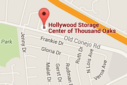 Hollywood Storage Center Location